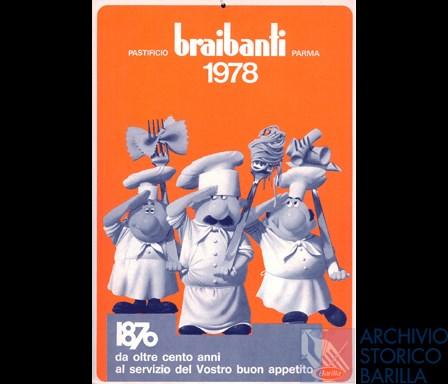 Calendario 1978.Calendario Braibanti 1978 Archivio Storico Barilla
