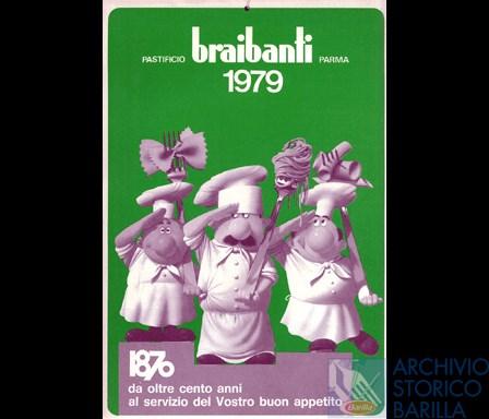 Calendario Del 1979.Calendario Braibanti 1979 Archivio Storico Barilla